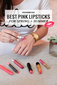 Best Pink Lipsticks