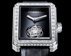 Haute Time: The Limited Edition Flying Tourbillon Watch For Women From Chanel