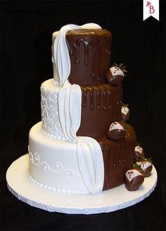 No te pierdas estas bellas tortas de matrimonio, de todos los colores, tamaños y sabores ¡Para todos los gustos!