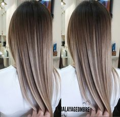 Hairstyles die Farbe und der Kurs Choosing The Best Plants For Your Garden Excited, that's how you f Bilage Hair, Hair Straightening Iron, Hair Color And Cut, Brunette Hair, Gorgeous Hair, Beautiful, Ombre Hair, Dyed Hair, Hair Inspiration