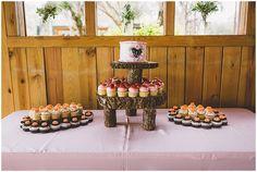 Wedding Cupcake Stand | The Budget Savvy Bride