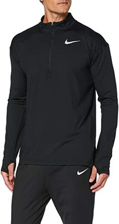 online shopping for Nike Mens Dry Element Zip Running Top (Medium, Black) from top store. See new offer for Nike Mens Dry Element Zip Running Top (Medium, Black) Dance Shirts, Ladies Of London, Nike Outfits, Mens Clothing Styles, Men's Clothing, Hoodie Jacket, Nike Men, Men Sweater, Man Shop