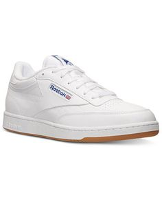 988a68fa5b6e72 Reebok Men s Club C Casual Sneakers from Finish Line Men - Finish Line  Athletic Shoes - Macy s