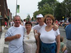 Levin & Galiulin families in Pittsfield , july 2006