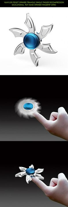 RARE Hand Fidget Spinner Finger Gyro Anti Stress Toys heawy duty bronse