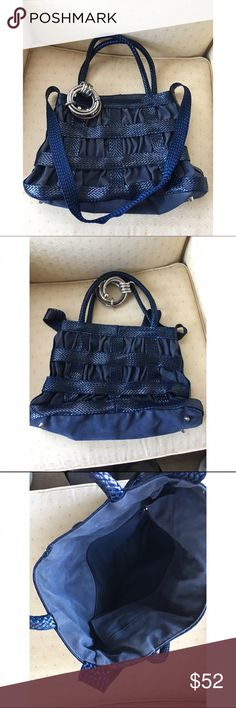 Cute blue bag In good condition. I will take offer. Bags