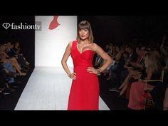 Red Dress | Funkshion Fashion Week Miami Beach 2014 | FashionTV - YouTube