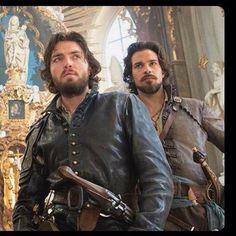 Athos and Aramis, Hannah's and my boyfriends.