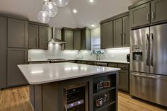 Shaker cabinets with crown molding shaker kitchen cabinets crown molding floating shelves with crown molding kitchen Kitchen Cabinets Trim, Cabinets To Ceiling, Contemporary Kitchen Cabinets, Shaker Cabinets, Kitchen Cabinet Design, Kitchen Modern, Cabinets With Crown Molding, Kitchen Cabinet Crown Molding, Cabinet Trim