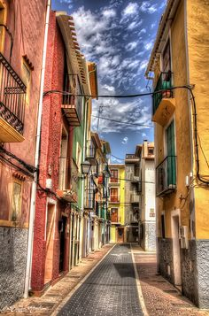 Alley of Villajoyosa - null