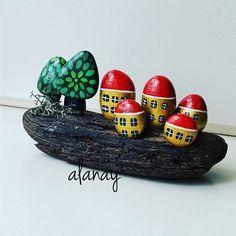 #taş #taşboyama #painting #stone #stonepainting #stoneart #resim #hobi #terapi…