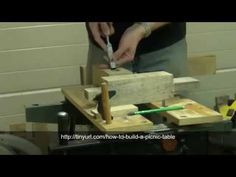 How To Build A Picnic Table ❶ ❷ ❸