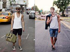 Moda masculina: dá pra se vestir bem de regata?