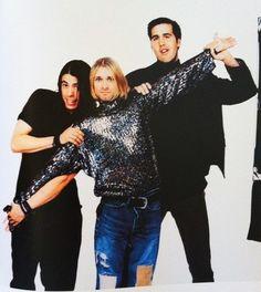 Nirvana - sessão de fotos com Anton Corbijn - julho de 1993.