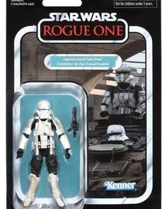 Star Wars The Vintage Collection 2018 Action Figure Wave 2 (Wave - Imperial Assault Tank Driver (Rogue One) Star Wars Action Figures, Custom Action Figures, Star Wars Toys, Star Wars Art, Legos, Figuras Star Wars, Vintage Star, Imperial Assault, Kenner Toys
