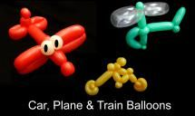 50 Balloon Animals You Can Learn to Make: Transportation Balloons That You Can Learn to Make