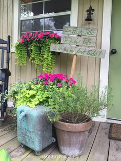 Shedquarters — A Quest For LIght #SheShed #Garden #FrontPorch #Porch