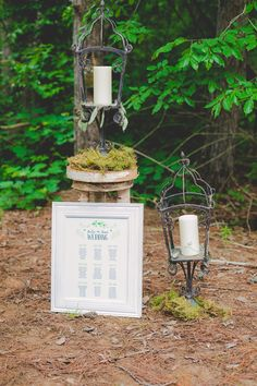Enchanted Forest Photoshoot.Seating chart by: Bre Creative www.bre-creative.ca  Seating chart, custom design, wedding, seating plan, rustic, natural, vintage.