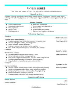 Live Career Resume Builder Sample  HttpWwwResumecareerInfo