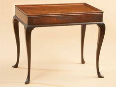 Tea table, Rhode Island, ca. 1760. Mahogany. Courtesy Bernard and S. Dean Levy