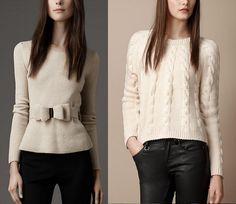 Moda inverno 2013: morbidi maglioni - Tentazione Fashion  #fashion #trend #sweater #maglione