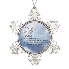 Bird Memorial Poem Ornament
