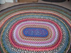 In Antiques Rugs Carpets Small 3x5 And Smaller Vintage Braided Wool Pinterest Woven Rug