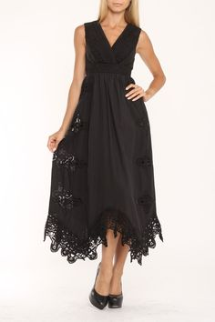 Meghan Kandra Dress In Noir