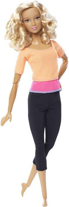 Barbie: Made to Move - Lockige Haare - Mattel - MULTIMEDIASTORE.ch - einfach einkaufen.