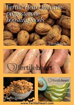Fertility Foods That Boost Progesterone Levels.