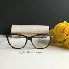 ebfc64c3239 You can order our Jimmy Choo eyeglasses with or without prescription lenses  on our webshop www