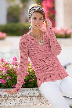 Crochet Cardigan       ♪ ♪ ... #inspiration_crochet #diy GB