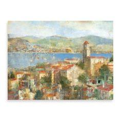 "Michael Longo ""Villaggio"" Canvas Art - BedBathandBeyond.com"
