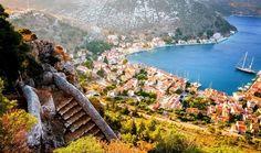 جزیره کاستلوریزو   جواهر کوچک و پنهان در یونان 