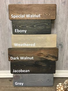 I choose you sign / Farmhouse Bedroom / Wedding Sign / Farmhouse Wedding / Farmhouse Sign / Large Framed Sign / Shiplap Sign / Farmhouse Wood Pallet Signs, Rustic Wood Signs, Wood Pallets, Rustic Kitchen Wall Decor, Rustic Decor, Wood Stain Colors, Dark Walnut Stain, Wood Floor Colors, Make Your Own Sign
