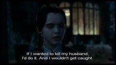 The Nancy Wilde Experience: Inspiration: Wednesday Addams