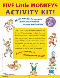Five Little Monkeys Five Little Monkeys, Small Group Activities, Preschool Centers, Rhymes Songs, Finger Plays, Road Trip With Kids, Play To Learn, Small Groups, Kid Printables