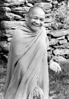 """Ajahn Chah """"Do everything with a mind that lets go. Don't accept praise or gain or anything else. If you let go a little you a will have a little peace; if you let go a lot you will have a lot of..."""