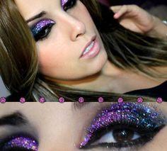 purple glitter  #orglamix #naturalbeauty
