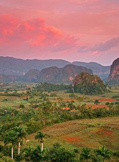 Viñales Valley, morning, Cuba