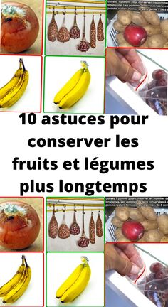 Guacamole, Good To Know, Conservation, Banana, Crochet, Table, Envy, Tips And Tricks, Fresh Fruits And Vegetables