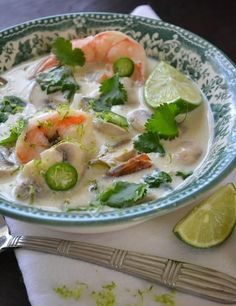 Recipe : Thai Coconut Lime Soup