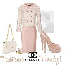Traditional CHANEL. You gotta love the timeless style.1960, 2012, just a few updates...