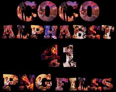 Coco Alphabet Alphabet Capital Letters, Your Design, Vibrant Colors, Card Stock, Photo Wall, Banner, Clip Art, Image, Banner Stands