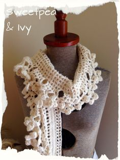 Neutral Crochet Boot Cuffs, Wrist Warmers and Shawl perhaps Scarf