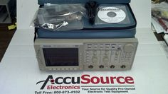 Tektronix TDS724D Two Channel Digital Phosphor Scope. 500 MHz, 2 GSa/S with Opt 13, 1F, 2M, 2F & 2C.
