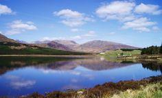 Loch Ailsh - Permits from Oykel Bridge Hotel, 01549 441218 North Coast 500, Brown Trout, Homeland, Fly Fishing, West Coast, Scotland, Bridge, Mountains, Travel