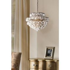 Langley 19 Wide Antique Br And Crystal Chandelier Dereesa Office