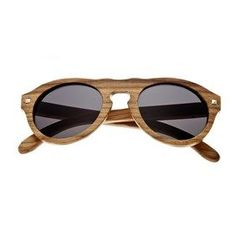 dd0c1d241a #Fashion Summer Style : Earth Wood Zebra Sunset Sunglasses w/ Polarized  Lenses