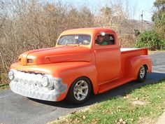 Skot & his 1952 Ford F1 Chopped & lowered. :)